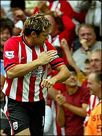 Southampton striker James Beattie