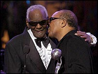 Ray Charles with Quincy Jones