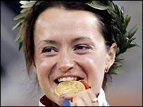 Russia's Yelena Slesarenko