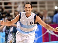 Argentina's Alejandro Ariel Montecchia