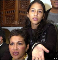 Zarai Toledo and her mother Lucrecia Orozco