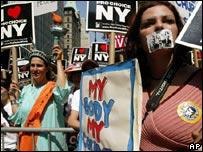 Activistas del movimiento