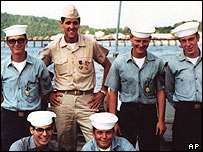 John Kerry with Swift Boat crew members