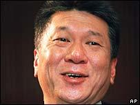 Macau's leader Edmund Ho