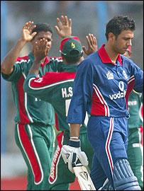 Solanki had a terrible run of form on the Bangladesh tour