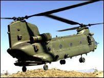 RAF Chinooks