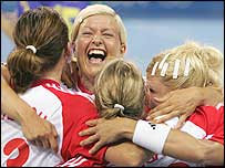 Denmark's women won Olympic gold in 1996 and 2000