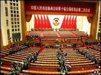 China's parliament - the National People's Congress
