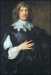 Van Dyck's portrait of Sir Basil Dixwell