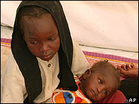 Darfur child refugee