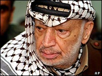 Late Palestinian leader Yasser Arafat