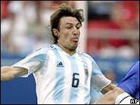 Gabriel Heinze-Argentina-F�tbol