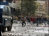 Riots in Kabylia