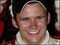 British driver Dan Wheldon