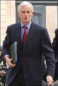 Michel Barnier, canciller de Francia.