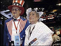 Delegates at the Republican convention, 2004