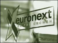 Euronext operates exchanges in Paris, Amsterdam, Brussels and Lisbon