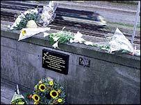 Paddington crash scene