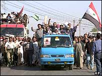 Humanitarian convoy heading for Falluja