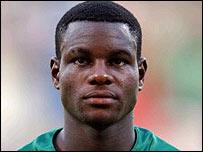 Cameroon midfielder Valery Mezague