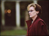 Meryl Streep in The Manchurian Candidate