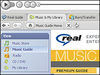 Realplayer 10 screen shot