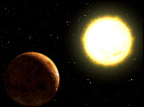 Exoplanet visualisation (Nasa)
