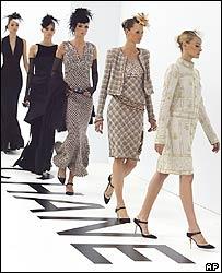 Chanel models