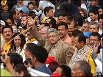 Manifestaciones el domingo en apoyo de Andrés Manuel López Obrador, alcalde del Distrito Federal