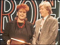 Alison Moyet and Peter Powell
