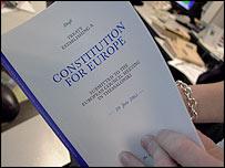 Constitución propuesta para la UE.