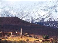 Montes Atlas, Marruecos.