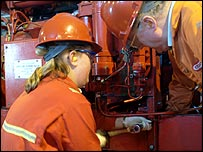 Oil workers - Halliburton KBR