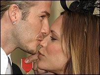 David and Victoria Beckhams