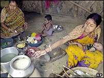 These Indian women were employed in Iraq as cooks