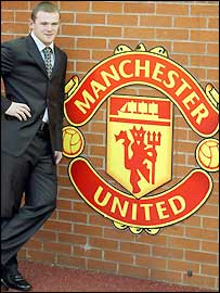 Wayne Rooney signed for Manchester United for £27m
