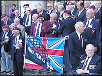 Veterans marking the Battle of Arnhem at the Imperial War Museum