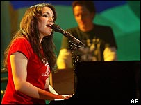 Singer Norah Jones