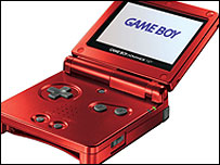 Nintendo's GameBoy Advance SP