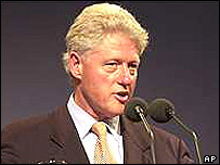 Ex-president Bill Clinton