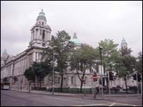 Councillors at Belfast City Hall passed the motion