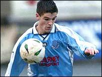 Shea Campbell of Ballymena United