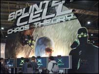 Scene from GameStars show