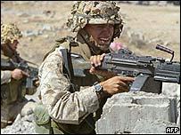 Marines near Falluja