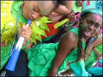 Elisar Cabrera's picture of children's day at the Notting Hill Carnival
