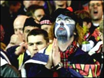 Scottish football fan