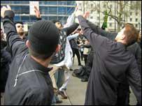 Shia worshippers in London