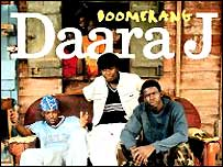Album cover of Boomerang, by Senegalese rap group Daara J