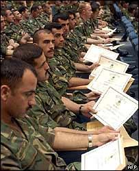 Iraqi officers graduate in Jordan