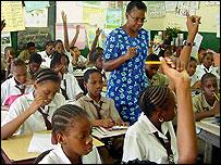 Jamaican classroom